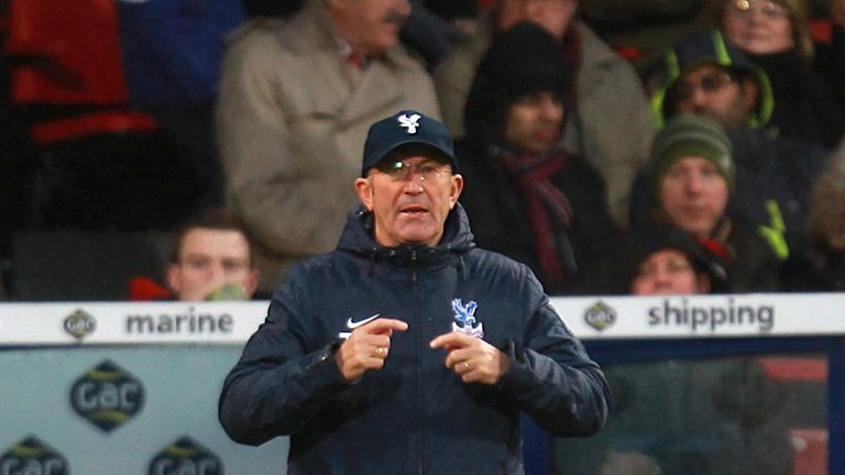Tony Pulis: Crystal Palace manager has outlined his transfer strategy