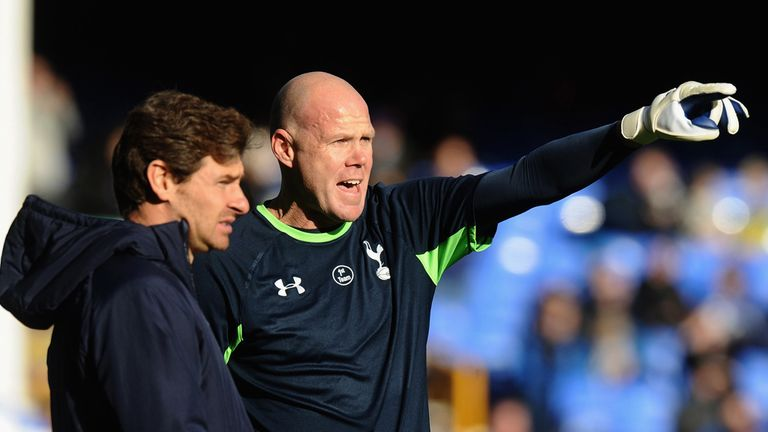 Andre Villas Boas and Brad Friedel: Tottenham goalkeeper has backed his manager