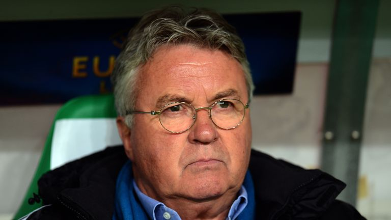 Guus Hiddink: Former Chelsea boss to return as Holland manager after World Cup.