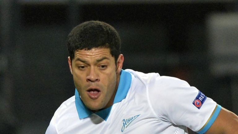 Hulk: Seeking a World Cup win on home soil