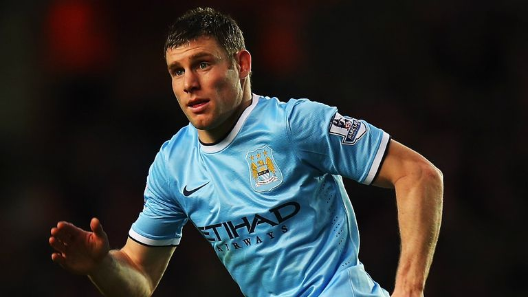 James Milner: The England international has one more year left on his City contract