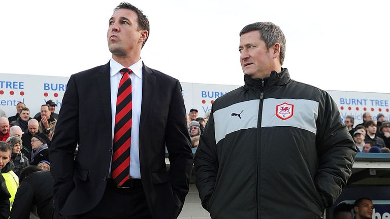 Malky Mackay (left) has travelled to Liverpool for this weekend's game