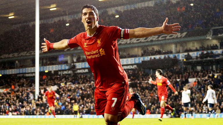 Luis Suarez: Liverpool striker could be set to earn new Anfield contract