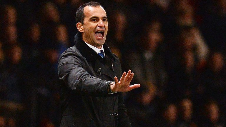 Roberto Martinez: Battling for top-four finish
