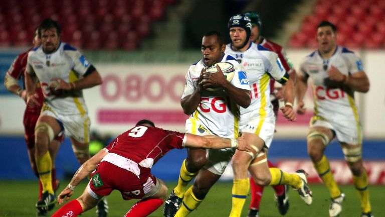 Napolioni Nalaga: Clermont wing scored a try in each half