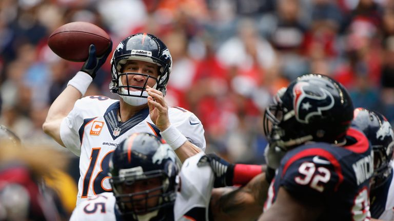 Peyton Manning: Denver Broncos quarterback took his season's tally to 51 touchdown passes