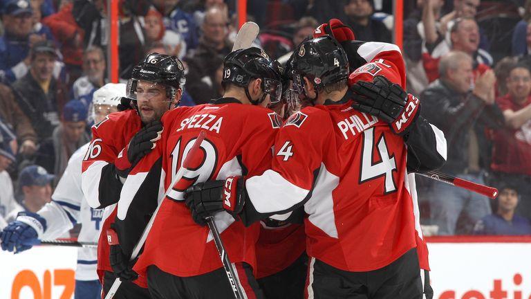 The Ottawa Senators overcame the Philadelphia Flyers
