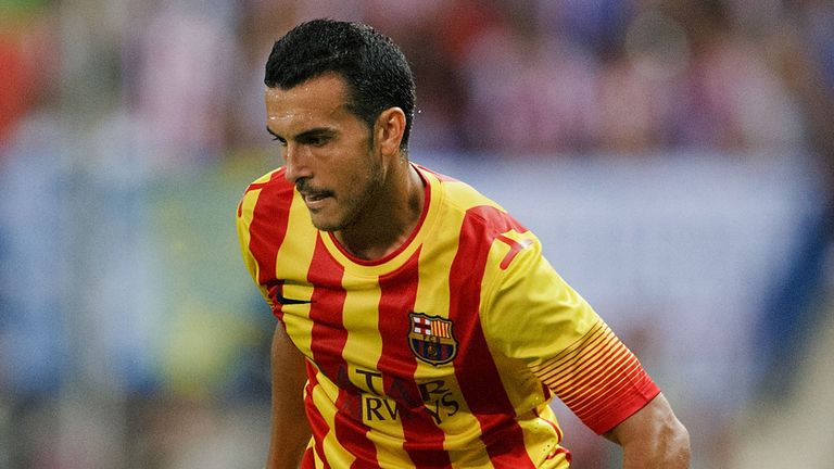 Pedro: On target for Barcelona in cup competition