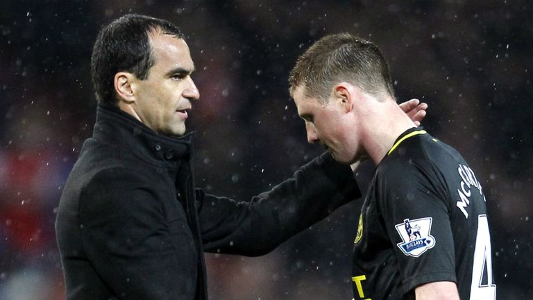 Roberto Martinez: Has hailed the performances of James McCarthy