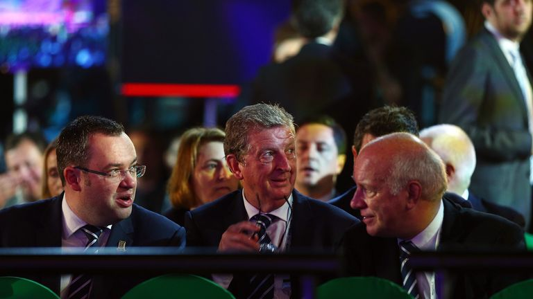 Horne, Hodgson and Dyke: At Friday's draw