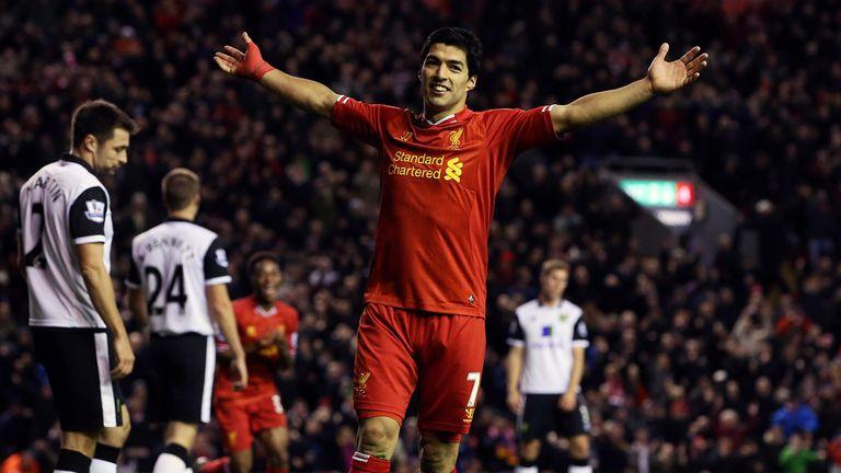 Luis Suarez: Happy at Anfield