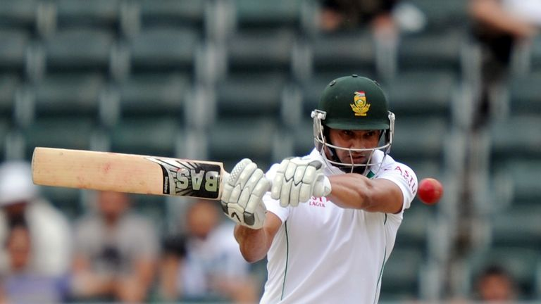 Alviro Petersen: South Africa opener reached the close unbeaten on 76