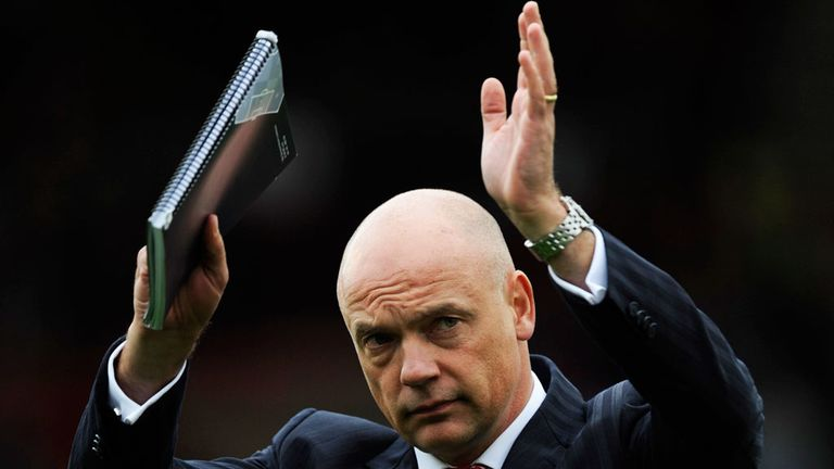 Uwe Rosler: Praised by caretaker boss Barrow