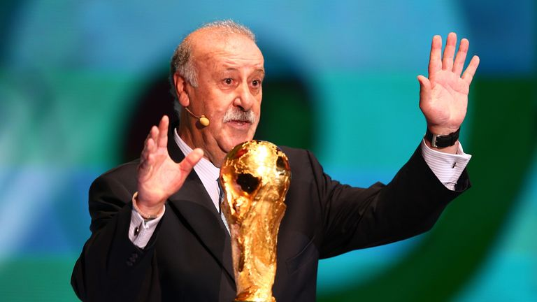 Vicente del Bosque: Knows world champions face a tricky opener in Brazil