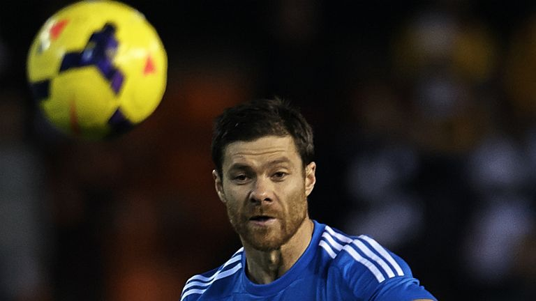 Xabi Alonso: Suffered a burst eardrum against Valencia