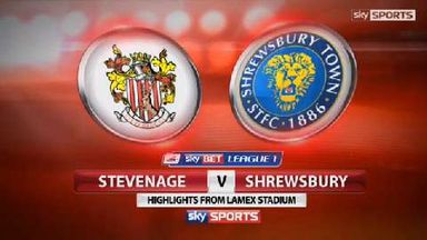 Stevenage 1-3 Shrewsbury