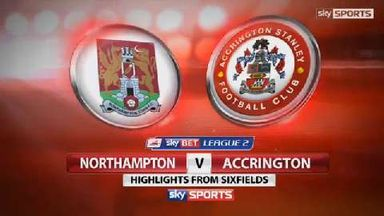 Northampton 1-0 Accrington