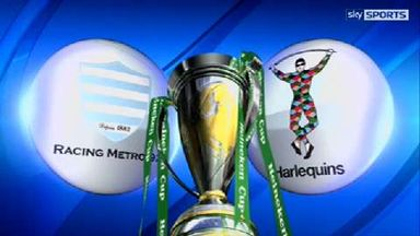 Racing Metro v Harlequins - Highlights