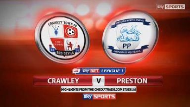 Crawley 2-2 Preston