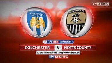 Colchester 0-4 Notts County