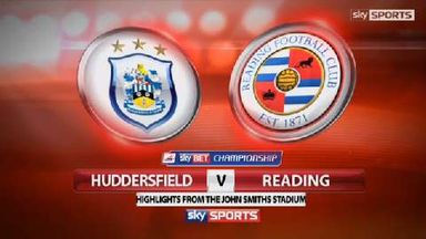 Huddersfield 0-1 Reading