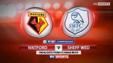 Watford 0-1 Sheff Wed