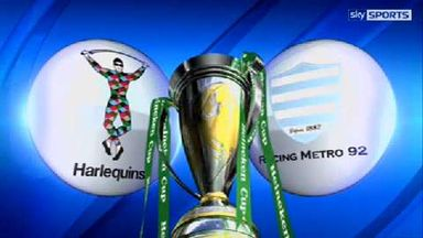 Harlequins v Racing Metro