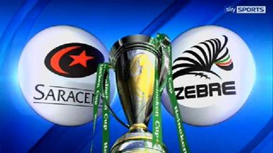 Saracens v Zebre - Highlights