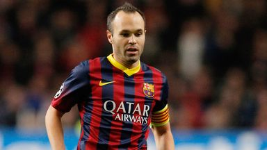 Andres Iniesta: Wants Barca to be brave