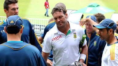 Jacques Kallis: Ended his Test career on the same ground that it began in 1995