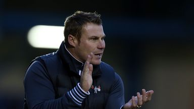 David Flitcroft: Delighted with Bury display