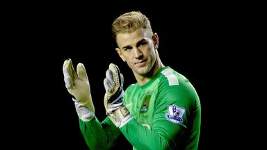 Joe Hart: Manchester City goalkeeper embracing the pressure of challenging for top honours