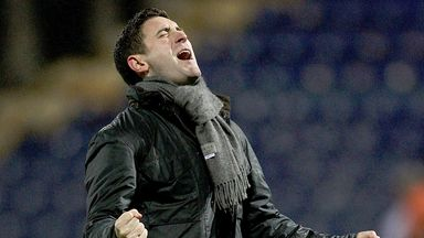 Lee Johnson: Enjoys victorious debut