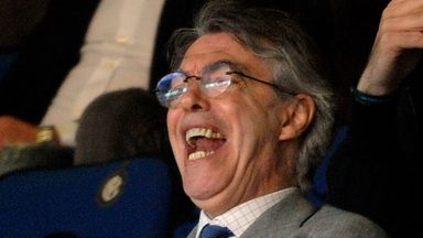 Massimo Moratti: Steps down from Inter Milan board