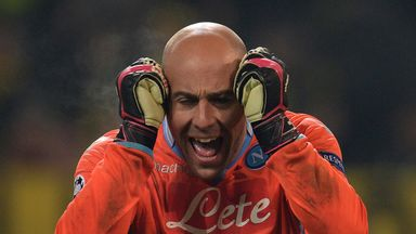 Pepe Reina: Confident Napoli can finish the season in style