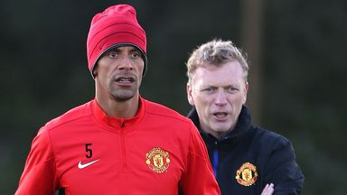 David Moyes: Manchester United manager denies Rio Ferdinand rumours