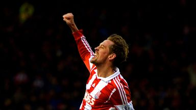 Peter Crouch: Happy with life at Stoke