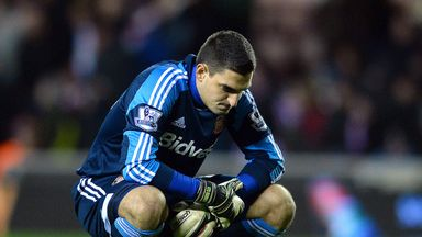 Vito Mannone: Will only hold talks over a new deal later in the summer