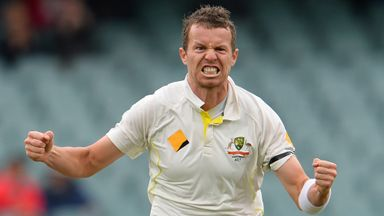 Peter Siddle: Australia seamer has dismissed Kevin Pietersen nine times in Test cricket