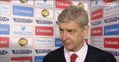 Wenger disappointed not to hold on