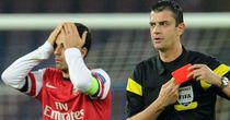 Mikel Arteta: Sent off as Arsenal lost 2-0 at Napoli