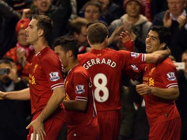 Liverpool: Can celebrate a 3-0 victory over West Ham