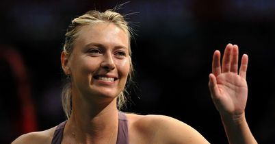 Sharapova back in action