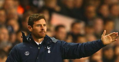 Andre Villas-Boas: Under pressure at White Hart Lane