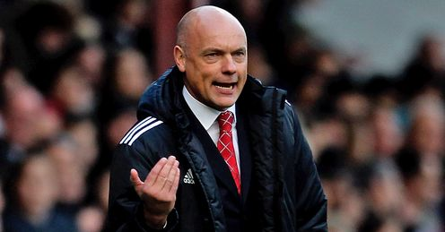 Uwe Rosler: In the stands for Wigan's match at Millwall