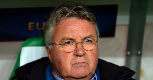 Guus Hiddink: Linked with Leicester vacancy
