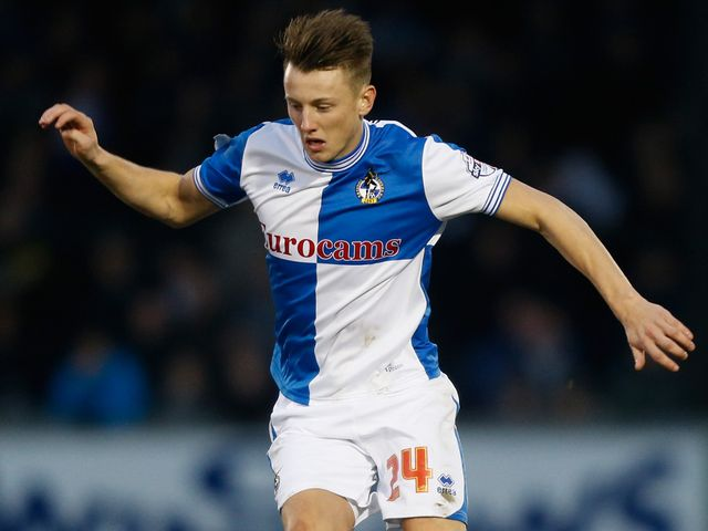 Ollie Clarke: Off the mark for Rovers