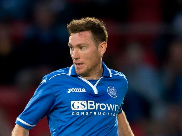 Paddy Cregg: Available for St Johnstone