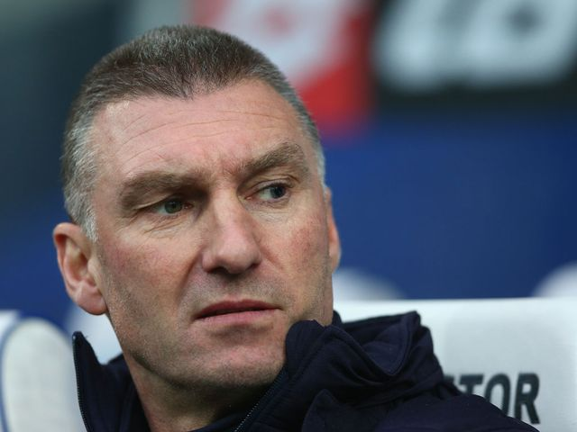 Nigel Pearson watched his side win 1-0 at QPR