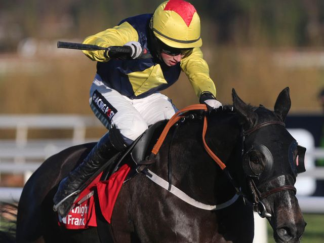 Guitar Pete on his way to victory at Leopardstown
